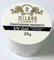Гель однофазный Milano прозрачный 28 гр
