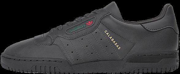 """Мужскиекроссовки adidas Yeezy Powerphase Calabasas """"Black"""" (Адидас Изи) черные"""