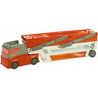 Грузовик-транспортер обновленный Hot Wheels Mattel, фото 1