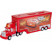 Грузовик-транспортер Тачки 3 Hot Wheels Mattel красный, фото 1