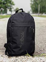 Рюкзак Reebok стильный городской качественный, цвет черный, фото 1