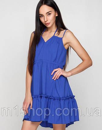 Женское летнее свободное платье на бретельках (Регина mrb), фото 2