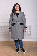 Демисезонное пальто больших размеров в категории пальто женские в ... 58574ea57fbfc