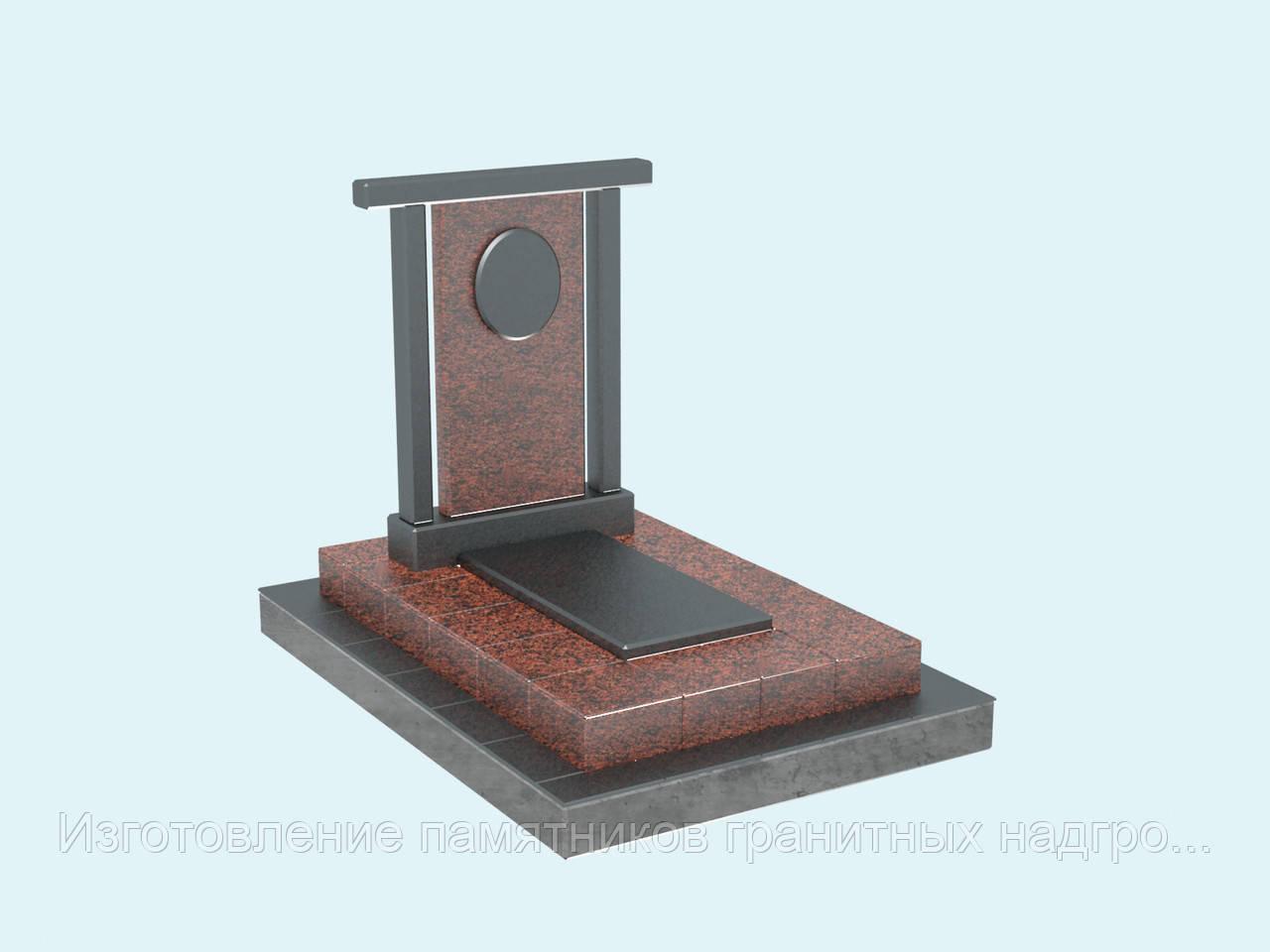 3d проект памятник гранитный с аркой, купить, заказать в Симферополе и Крыму