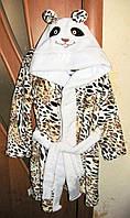 Халат для детей с ушками,  размер 28, фото 1