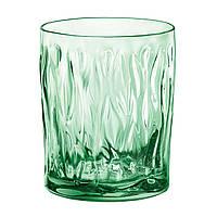 Wind Green Набор стаканов низких 3 штуки 300мл d7,4 см h9,6 см стекло BormioliRocco