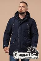 Парка зимняя мужская Braggart Dress Code - 38830T темно-синяя