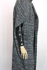 Вязаний кардиган без рукавів oversaise , фото 2