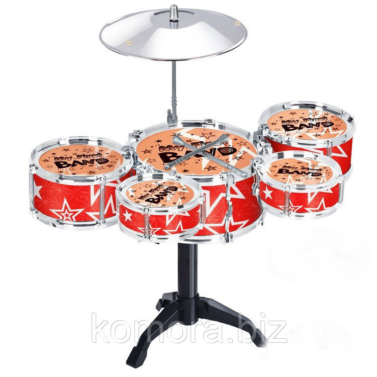 Детский Игровой Набор Мини-Ударная Барабанная Установка Juzz Drum