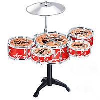 Детский Игровой Набор Мини-Ударная Барабанная Установка Juzz Drum, фото 1