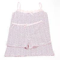 """Женская розовая пижама (хлопок) """" Gelincik """" майка на тонкой  бретельке+шортики c2195416a70c6"""