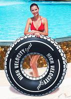 Пляжный Надувной Круг Колесо для Плавания и Отдыха 91 см Матрас Шина