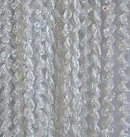Шторы нити Спираль Белые №1