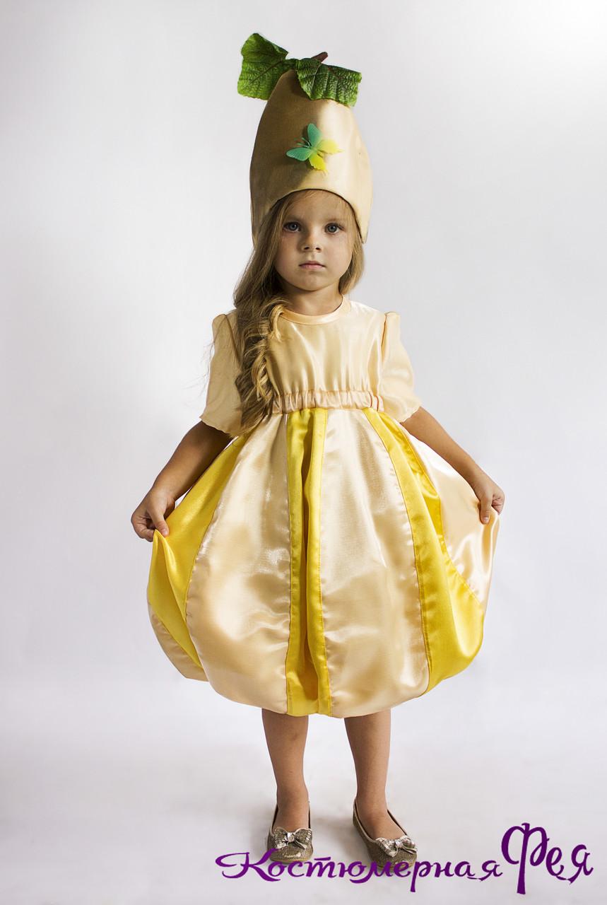 Динька, карнавальний костюм для дівчаток (код 61/1)