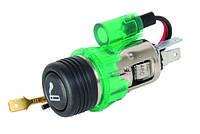 Прикуриватель с подсветкой Carlife (LC421)