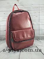 Рюкзак/ вишневого цвета