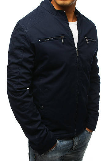 Мужская демисезонная куртка  Синий