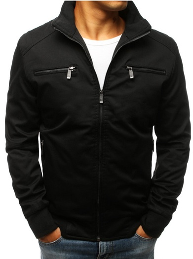 Мужская демисезонная куртка №2 Чёрный