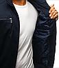 Мужская демисезонная куртка №2 Чёрный, фото 4