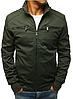 Мужская демисезонная куртка №2 Чёрный, фото 5