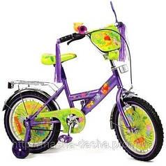 """Детский двухколесный велосипед Дисней """"Винни Пух"""" (диаметр колес 12)"""