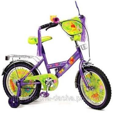 """Детский двухколесный велосипед Дисней """"Винни Пух"""" (диаметр колес 12), фото 2"""