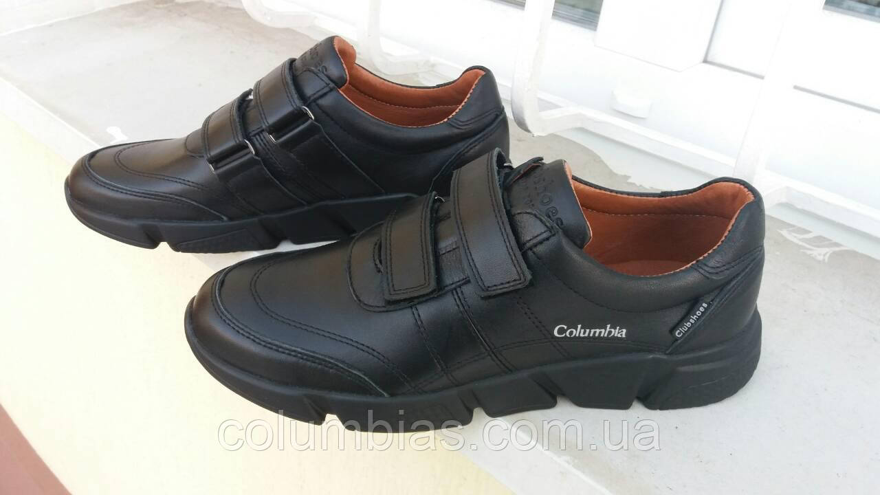 703cdc567 Осенние мужские кроссовки на липучке colambia 6723 - Весь ассортимент в  наличии, звоните в любое