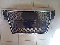 Решетка радиатора Audi A4 стиль RS4 (2008-2011)