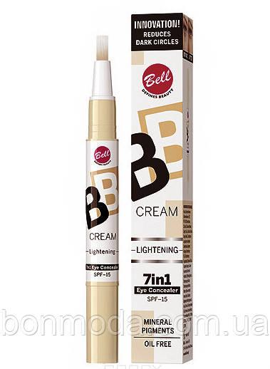 Светоотражающий корректор BB Cream Lightening 7in1 Eye Concealer Bell № 02