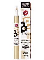 Светоотражающий корректор BB Cream Lightening 7in1 Eye Concealer Bell № 02, фото 1