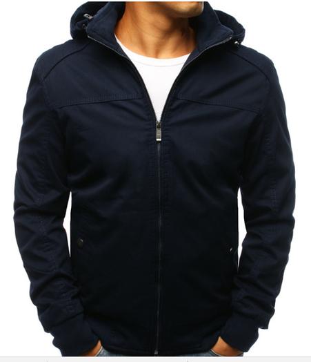 Мужская демисезонная куртка  с капюшон