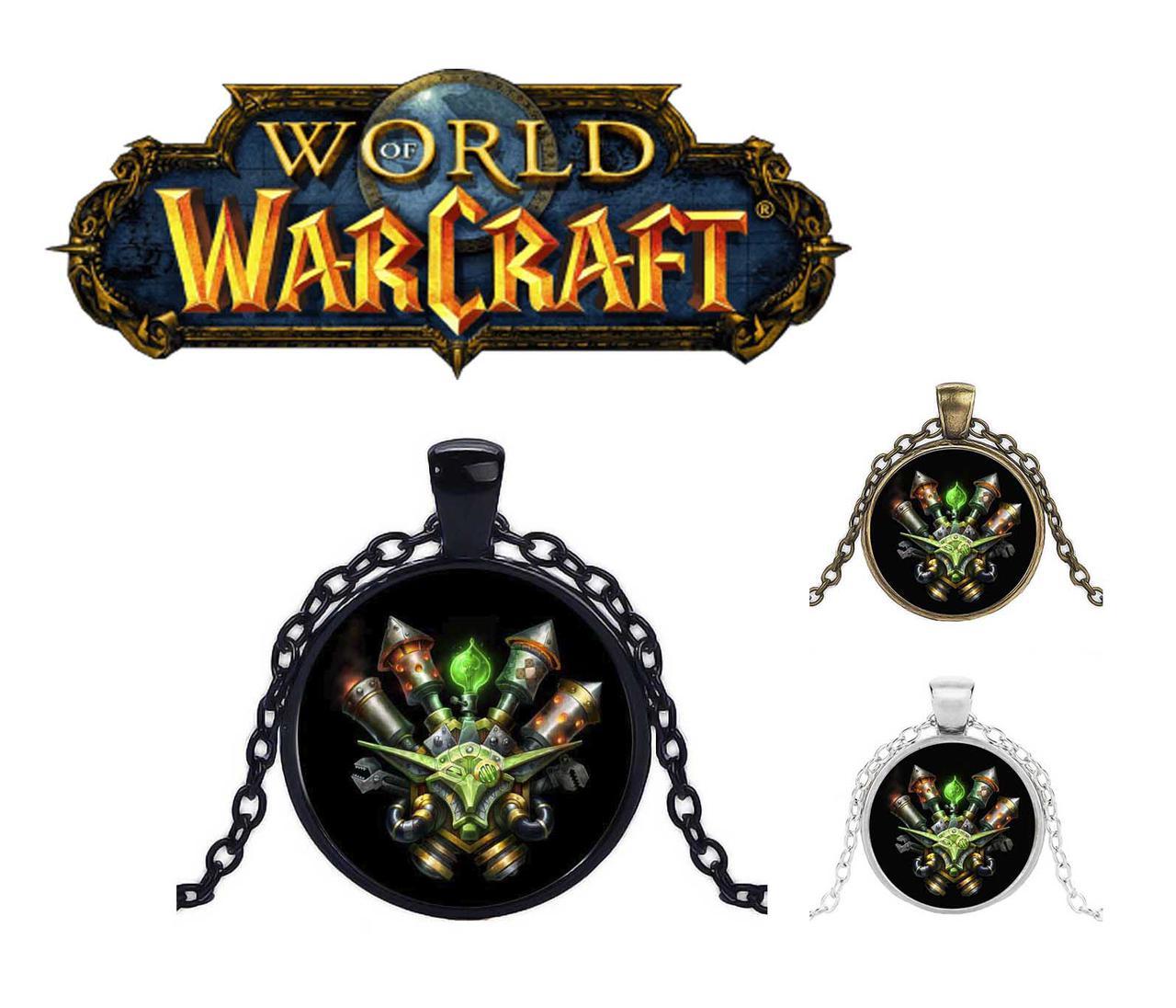 Кулон Гоблины Warcraft Варкрафт