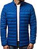 Стёганая демисезонная куртка цветная Тёмно-синий, фото 6