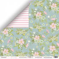 Бумага для скрапбукинга Pur Pur, Цветочный орнамент, 30х30 см, фото 1