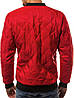 Стёганая мужская демисезонная куртка цветная Красный, фото 7