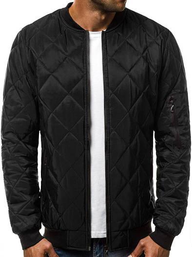 Стёганая мужская демисезонная куртка цветная #1