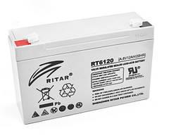 Акумулятор AGM RITAR RT6120A 6V 12Ah