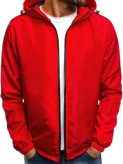 Куртка мужская цветная бомбер лёгкая №1