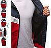Мужская ветровка  с капюшон Красный, фото 3