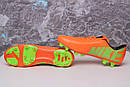Бутсы Nike Mercurial (оранжевые) 1003(реплика), фото 7