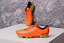 Бутсы Nike Mercurial (оранжевые) 1003(реплика), фото 9