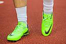 Бутсы Nike Mercurial (салатовые) 1004(реплика), фото 4