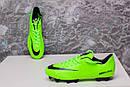 Бутсы Nike Mercurial (салатовые) 1004(реплика), фото 5