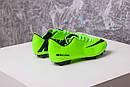 Бутсы Nike Mercurial (салатовые) 1004(реплика), фото 9