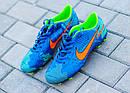 Бутсы Nike Mercurial  X  (Синие) 1008(реплика), фото 2
