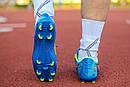Бутсы Nike Mercurial  X  (Синие) 1008(реплика), фото 3