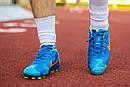 Бутсы Nike Mercurial  X  (Синие) 1008(реплика), фото 5
