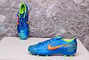 Бутсы Nike Mercurial  X  (Синие) 1008(реплика), фото 6