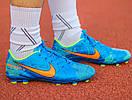 Бутсы Nike Mercurial  X  (Синие) 1008(реплика), фото 10