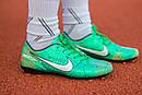 Бутсы Nike Mercurial  X (Зеленые) 1009(реплика), фото 4